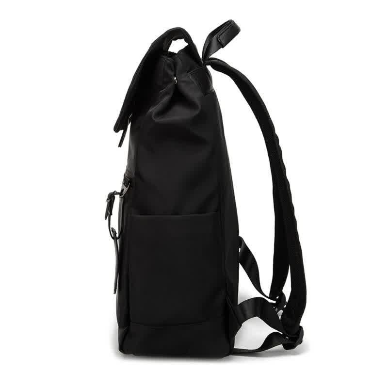 Women Men Nylon Large-capacity Backpack Business Travel School Bookbags