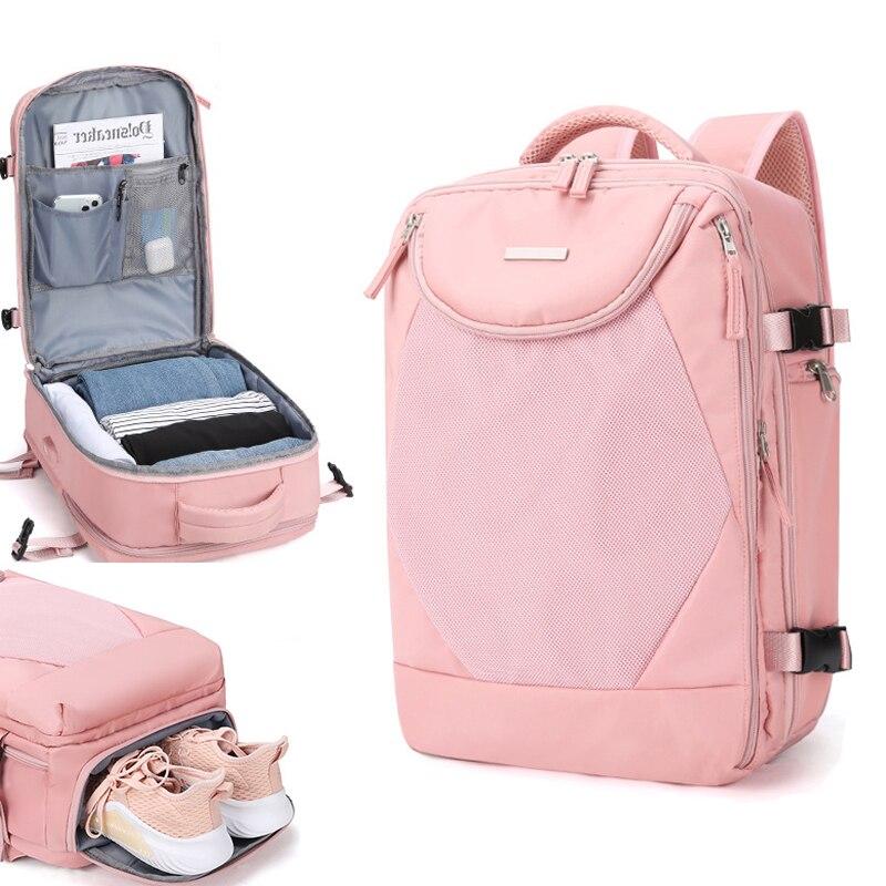 Multifunction Waterproof Travel Backpack Men Women Laptop Backpacks
