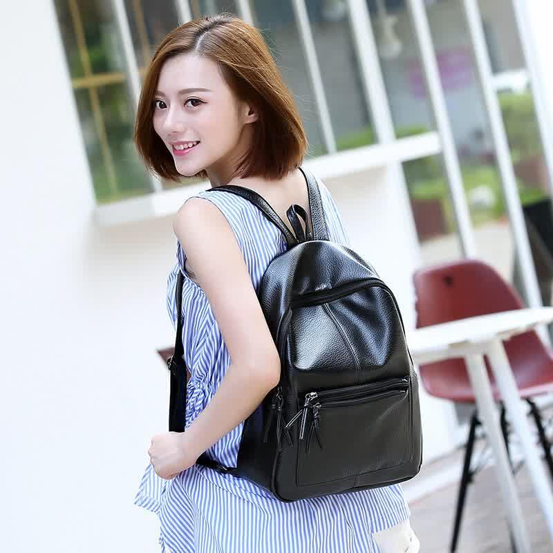 New High Quality Travel Girls Backpack Korean Women Female Rucksack